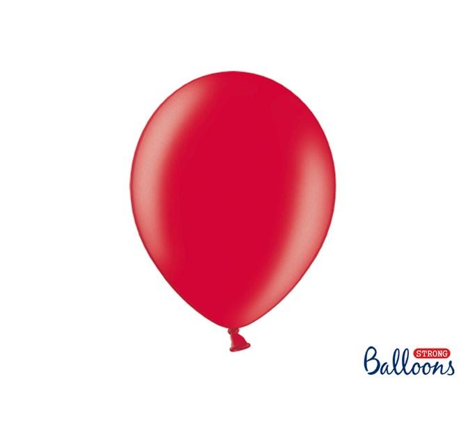 Ballonger Metallic Röda