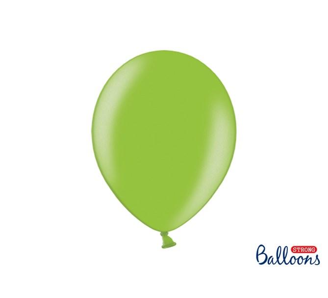 Ballonger Metallic Ljusgrön