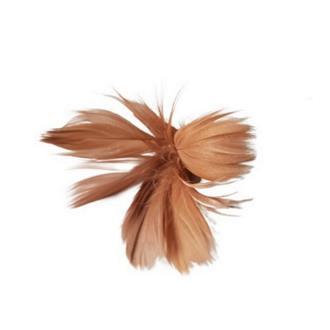 Fjäder blomma brun 12pack