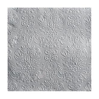 Servett elegant Silver, 15-pack