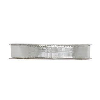 Dekorationsband Silver, 25 m.
