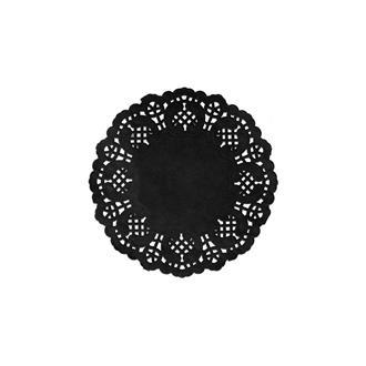 Tårtpapper svart 10 cm, 10-pack