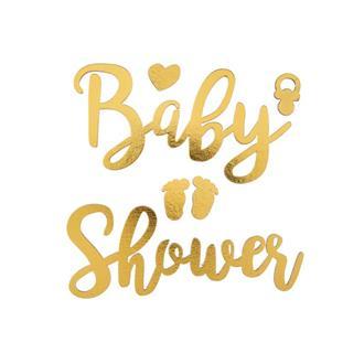 Klistermärke Babyshower