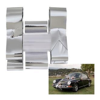 Bildekoration Silver Metallic