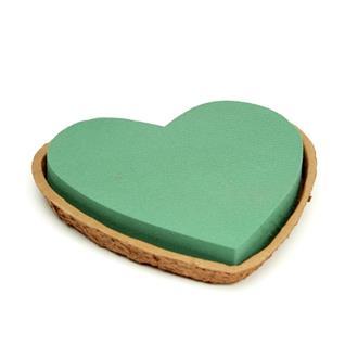 Oasis Hjärta i Biolit-skål, 27 cm