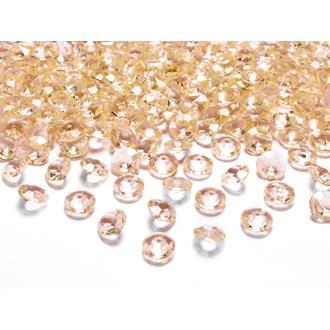 Diamantkonfetti  guld