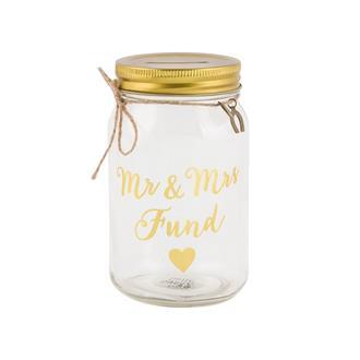 """Glasburk """"Mr & Mrs Fund"""""""
