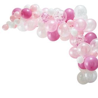 Ballonggirlang rosa