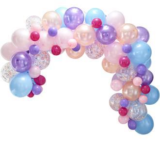 Ballonggirlang kit pastell