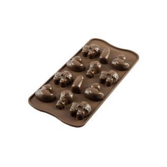 Form till choklad baby