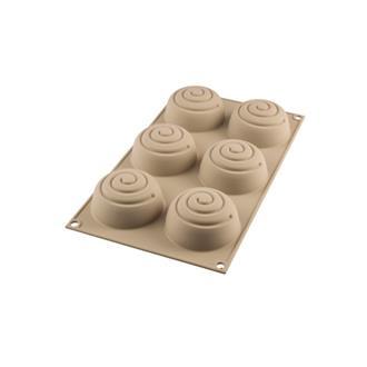 Silikonform 3D Mini Girotondo