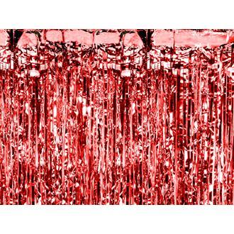 Dörrdraperi Röd