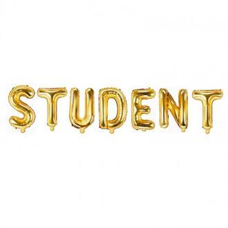 Ballonggirlang STUDENT guld