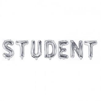 Ballonggirlang STUDENT silver