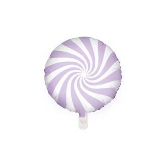 Folieballong godis lila