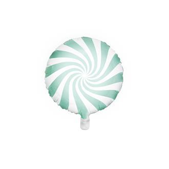 Folieballong godis mintgrön