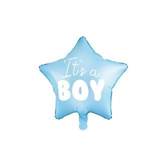 Folieballong stjärna It´s a boy