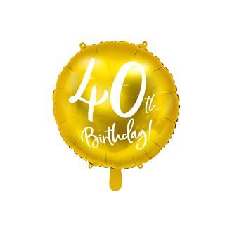 Folieballong 40 år