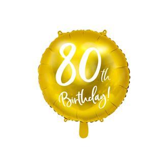 Folieballong 80 år