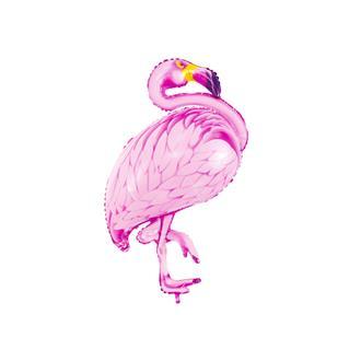 Folieballong flamingo