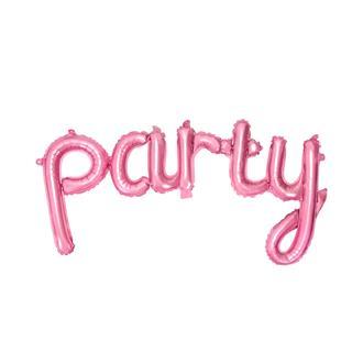 Ballong Party Rosa