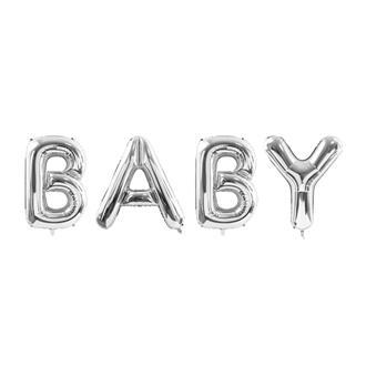 """Ballong """"BABY"""" SIlver"""
