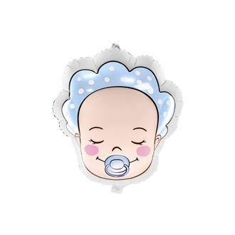 Ballong Baby pojke blå
