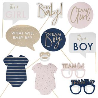 Gender Reveal Photo Booth