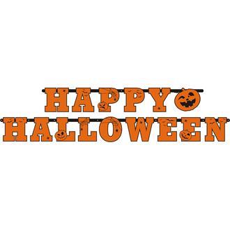 Skylt Happy Halloween