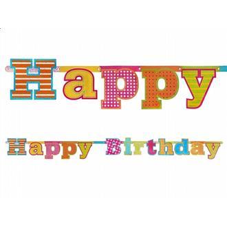 Banner Happy Birthday kalas