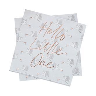 """Servetter Baby """"Hello Little One"""", 20-pack"""