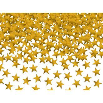 Konfetti Stjärnor Guld