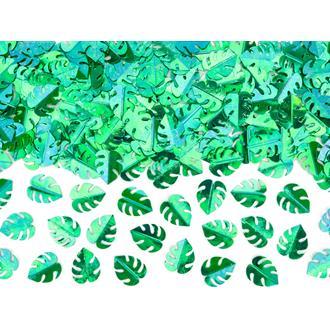 Konfetti Tropical grön