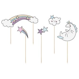 Cake toppers Unicorn, 5st