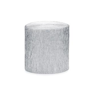 Kräppapper silver