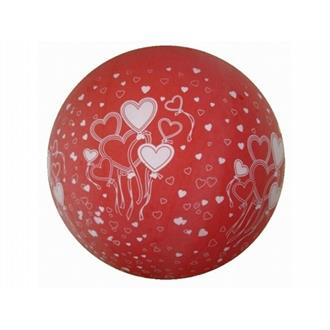 Ballong stor Röd med hjärta