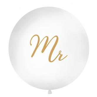 """Ballong """"Mr"""" Guld, 1 m."""