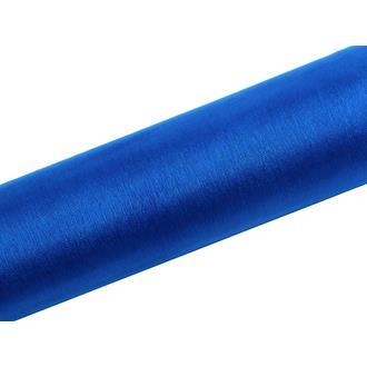Organzatyg Blå, 16 cm och 36 cm