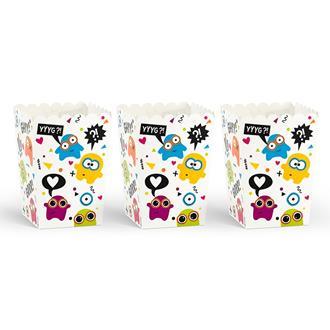 Popcornboxar Monster, 6-pack