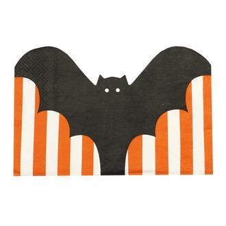 Servetter halloween fladdermus, 20-pack