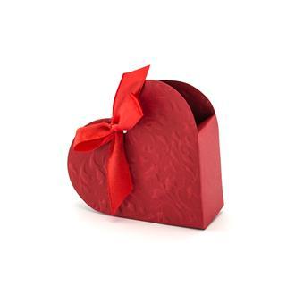 Presentaskar Röd Hjärta, 10-pack