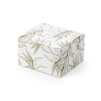 Presentask guldlöv, 10-pack