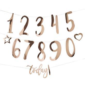 Vimpel födelsedag siffror