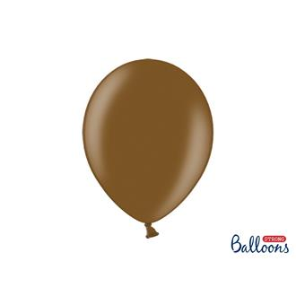 Ballonger Metallic Mörkbruna 35 cm.