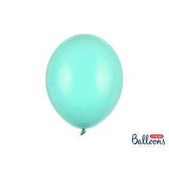 Ballonger pastell matt ljus mint, 10-pack