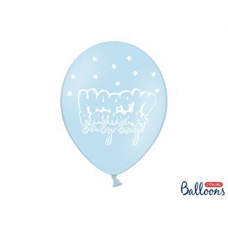 Ballonger baby pojke, 6-pack