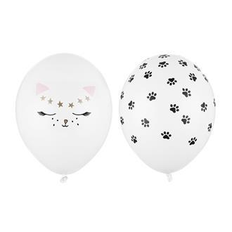Ballonger Katt 30 cm, 5-pack