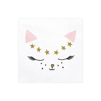 Servett Katt, 20-pack