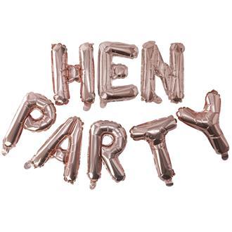 """Ballonggirlang Möhippa """"Hen Party"""""""