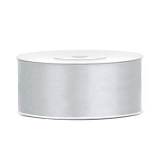 Satinband Silver